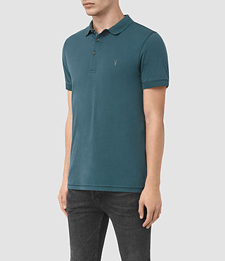 Herren Alter Polo Shirt (Airforce Blue) - product_image_alt_text_3