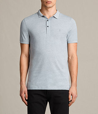 Hombres Alter Polo Shirt (Sky Blue) -