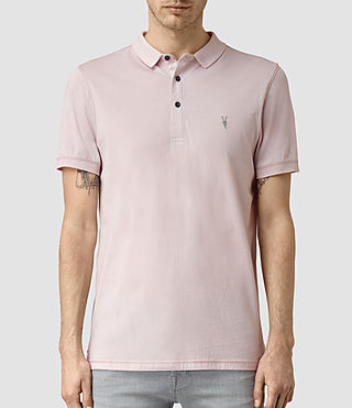 Herren Alter Polo Shirt (Lilac Marl) -