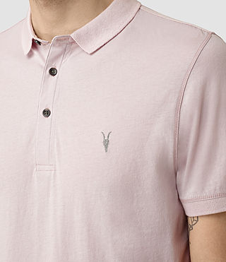 Uomo Alter Polo Shirt (Lilac Marl) - product_image_alt_text_2