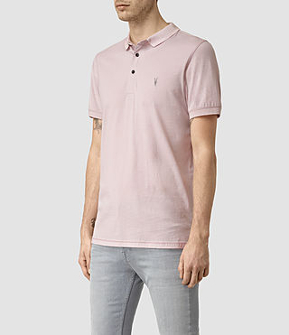Uomo Alter Polo Shirt (Lilac Marl) - product_image_alt_text_3