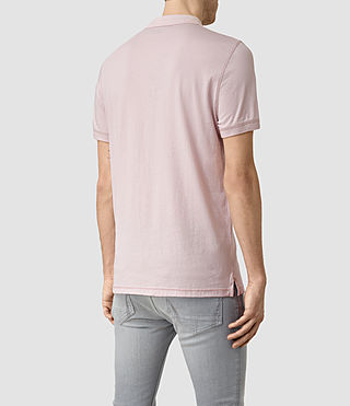 Men's Alter Polo Shirt (Lilac Marl) - product_image_alt_text_4