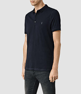 Hombre Alter Polo Shirt (Ink) - product_image_alt_text_2