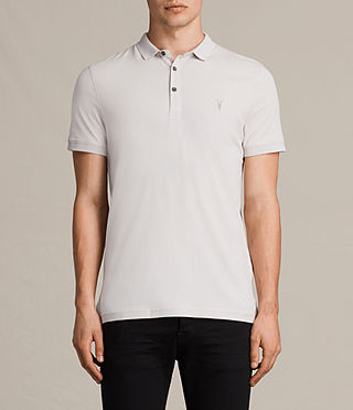 Hommes Alter Polo Shirt (Marble Grey) -