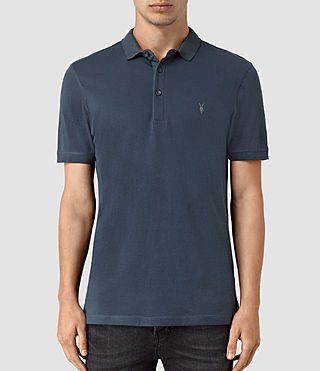 Hommes Alter Polo Shirt (Workers Blue)