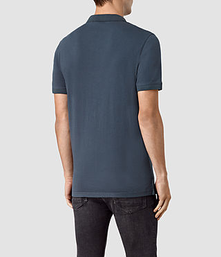 Hommes Alter Polo Shirt (Workers Blue) - product_image_alt_text_3