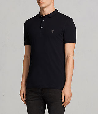 Men's Alter Polo Shirt (INK NAVY) - product_image_alt_text_3