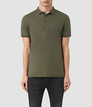 Hommes Alter Polo Shirt (MOSS GREEN) -