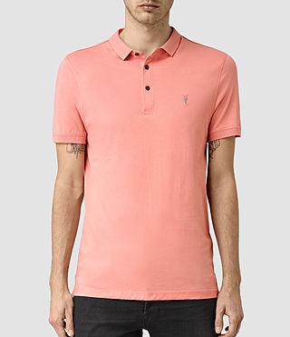 Men's Alter Polo Shirt (ROSETTE PINK)