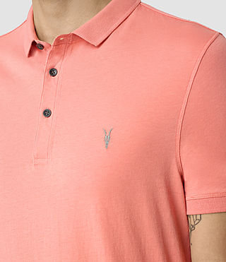 Men's Alter Polo Shirt (ROSETTE PINK) - product_image_alt_text_2