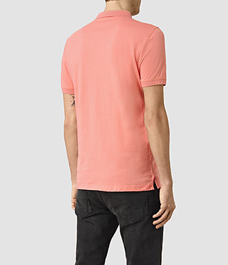 Men's Alter Polo Shirt (ROSETTE PINK) - product_image_alt_text_4