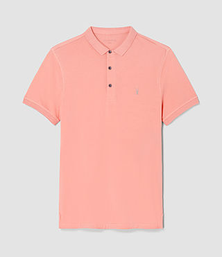 Men's Alter Polo Shirt (ROSETTE PINK) - product_image_alt_text_5