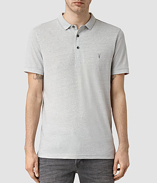 Mens Alter Polo Shirt (MIRAGE BLUE MARL)