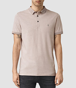 Uomo Alter Polo Shirt (Sphinx Pink Marl) -