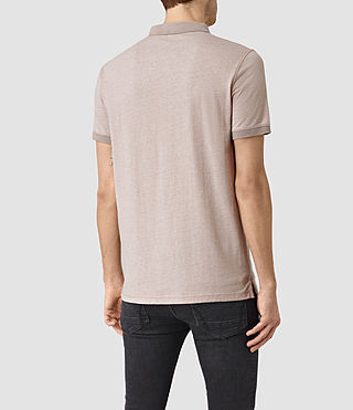Uomo Alter Polo Shirt (Sphinx Pink Marl) - product_image_alt_text_3