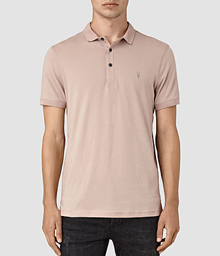 Hombres Alter Polo Shirt (FIG PINK) -