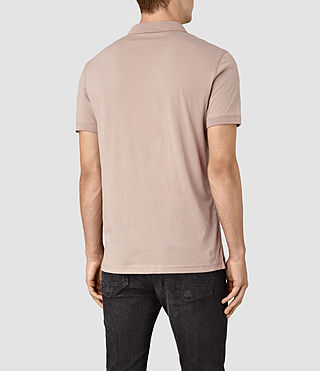 Men's Alter Polo Shirt (FIG PINK) - product_image_alt_text_4