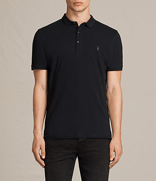 Mens Alter Polo Shirt (Jet Black) - product_image_alt_text_1