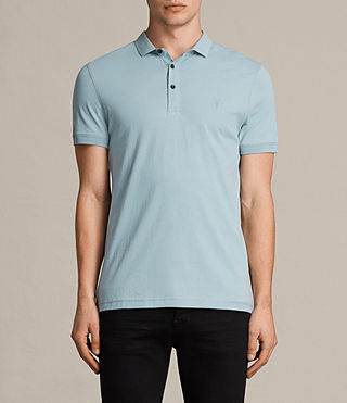Hombres Alter Polo Shirt (NORDIC BLUE) -