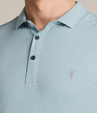Mens Alter Polo Shirt (NORDIC BLUE) - product_image_alt_text_2