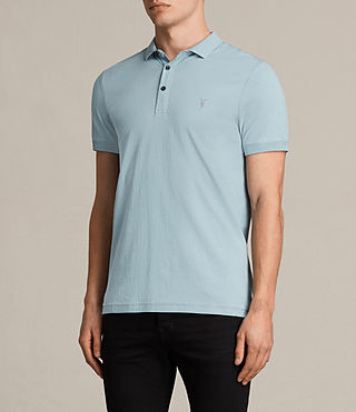 Mens Alter Polo Shirt (NORDIC BLUE) - product_image_alt_text_3