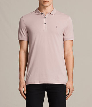 Men's Alter Polo Shirt (DUST PINK) -