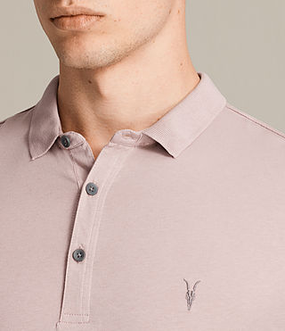 Men's Alter Polo Shirt (DUST PINK) - product_image_alt_text_2