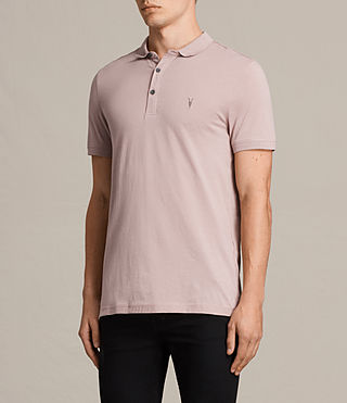 Men's Alter Polo Shirt (DUST PINK) - product_image_alt_text_3