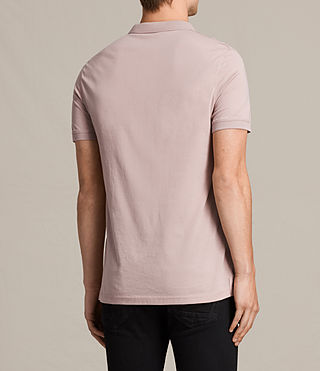 Men's Alter Polo Shirt (DUST PINK) - product_image_alt_text_4