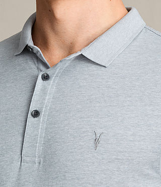 Hommes Alter Polo Shirt (STORM BLUE MARL) - product_image_alt_text_2