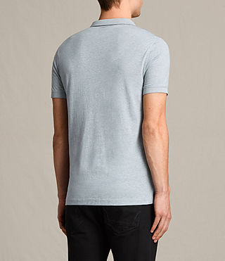 Hommes Alter Polo Shirt (STORM BLUE MARL) - product_image_alt_text_4