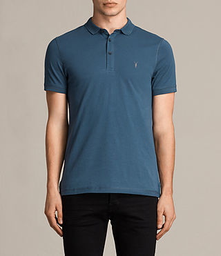 Hombre Alter Polo Shirt (MONTANA BLUE) - product_image_alt_text_1
