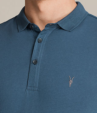 Hombre Alter Polo Shirt (MONTANA BLUE) - product_image_alt_text_2