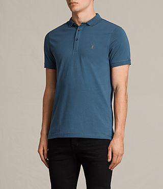 Hombre Alter Polo Shirt (MONTANA BLUE) - product_image_alt_text_3