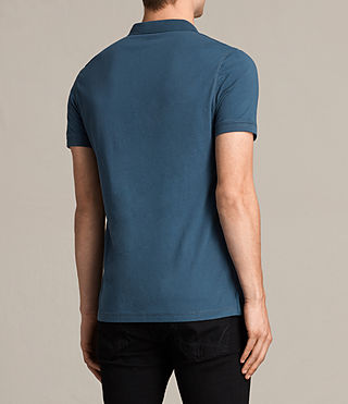 Hombre Alter Polo Shirt (MONTANA BLUE) - product_image_alt_text_4