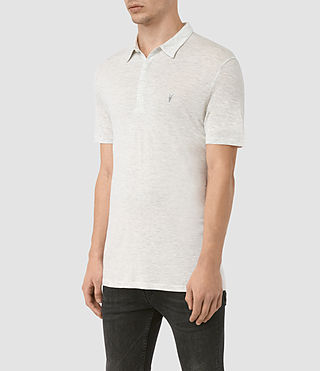 Hombre Meter Tonic Polo (Light Grey Marl) - product_image_alt_text_3