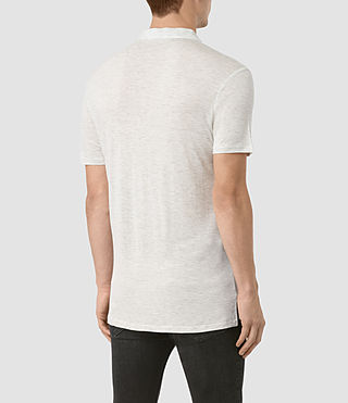 Hombre Meter Tonic Polo (Light Grey Marl) - product_image_alt_text_4
