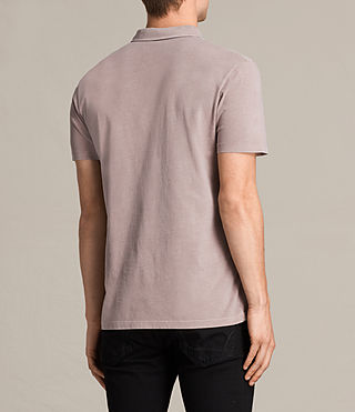 Men's Ossage Polo Shirt (Dusk Pink) - product_image_alt_text_3