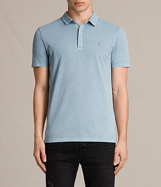 Mens Ossage Polo Shirt (NORDIC BLUE) - product_image_alt_text_1
