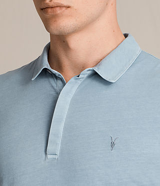 Hommes Ossage Polo Shirt (NORDIC BLUE) - product_image_alt_text_2