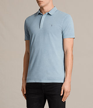 Hommes Ossage Polo Shirt (NORDIC BLUE) - product_image_alt_text_3