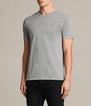 Men's Ossage Crew T-Shirt (Putty Brown) - product_image_alt_text_2