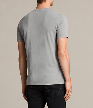 Men's Ossage Crew T-Shirt (Putty Brown) - product_image_alt_text_3