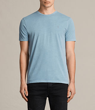 Mens Ossage Crew T-Shirt (NORDIC BLUE) - product_image_alt_text_1