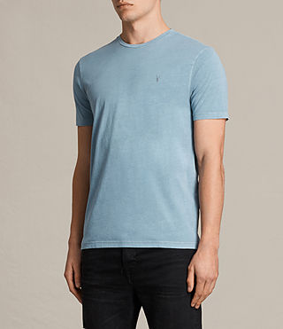 Mens Ossage Crew T-Shirt (NORDIC BLUE) - product_image_alt_text_2