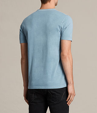 Mens Ossage Crew T-Shirt (NORDIC BLUE) - product_image_alt_text_3
