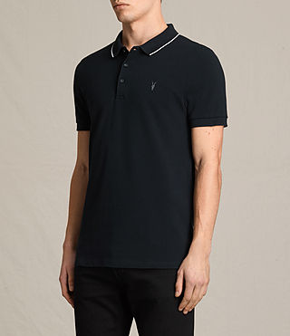 Hommes Polo Houston (Jet Black/Chalk) - product_image_alt_text_3