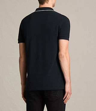 Hommes Polo Houston (Jet Black/Chalk) - product_image_alt_text_4