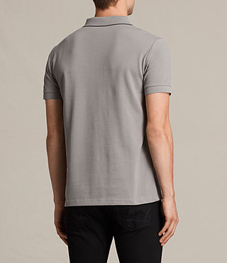 Hommes Houston Polo Shirt (PUTTY BROWN/BLACK) - product_image_alt_text_4