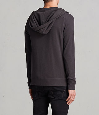 Mens Clash Hoody (Washed Black) - product_image_alt_text_4